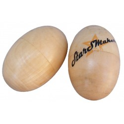 Huevos shaker Madera StarSMaker® SM-MA103