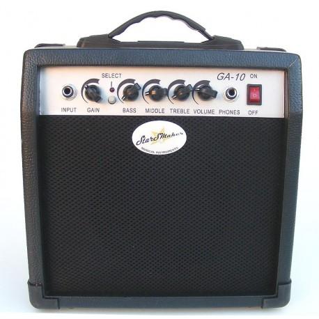 Amplificador guitarra 10W StarSMaker® SM-AGT10