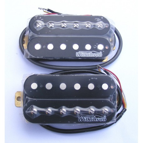 Set Pastilla single Humbuckers Wilkinson SM-PWH102S