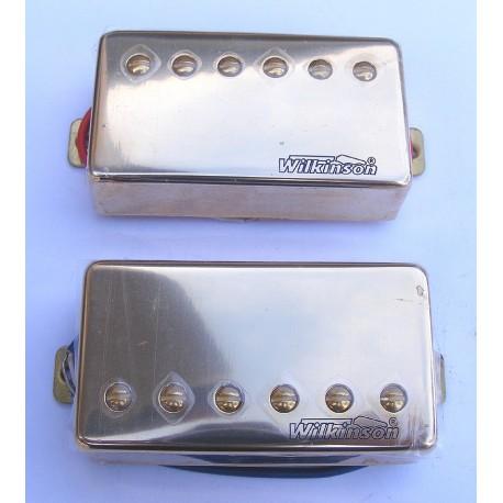 Set Pastilla doble bobinadoHumbucker Wilkinson SM-PWH94S