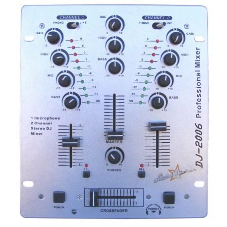 DJ Mixer StarSMaker® SM-DJ2006