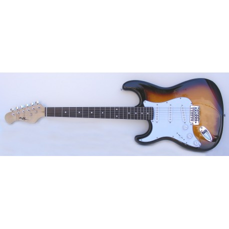 Guitarra eléctrica zurdos SM-GE001SL StarSMaker Lefty1