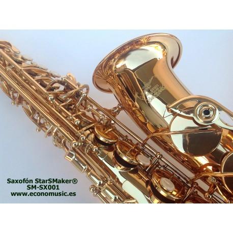 Saxofón Alto Grado medio StarSMaker® SM-SX001 Mib3