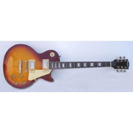 Guitarra eléctrica SM-GE013 StarSMaker Page Sunburst LP1
