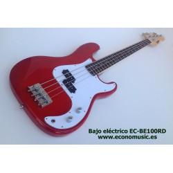 Bajo eléctrico EC-BE100RD 4 cuerdas
