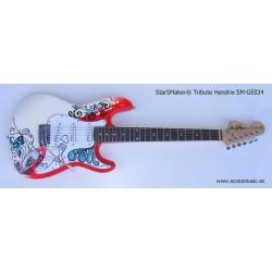 Guitarra eléctrica SMGE034 StarSMaker Tribute Jimmy Hendrix