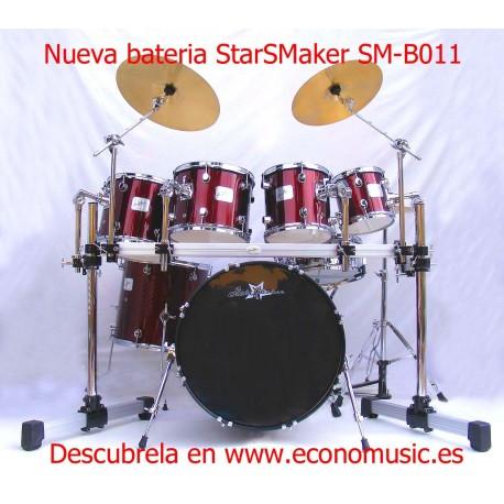 Batería acústica StarSMaker® SM-B011 set 7 piezas con Tubulares
