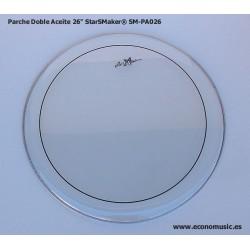 """Parche Bombo aceite bombo 26"""" StarSMaker® SM-PA026"""