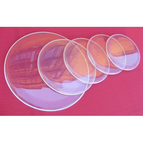 Set 5pc parches doble aceite para bateria StarSMaker® SM-PASET