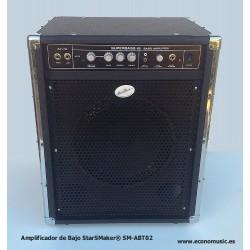 Amplificador de Bajo 65W StarSMaker® SM-ABT02