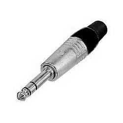 Clavija conector 1/4 macho stereo StarSMaker® SM-CCMS