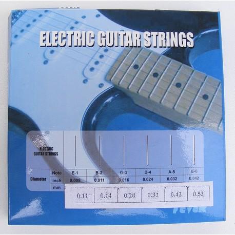 Cuerdas Guitarra eléctrica StarSMaker® SM-GSE11