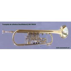 Trompeta gama alta de cilindros Sib 3 Cilíndros StarSMaker® SM-TR020