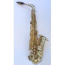 """Saxofón Alto Gama profesional StarSMaker® SM-SXX08 """"estilo Selmer 80II"""""""