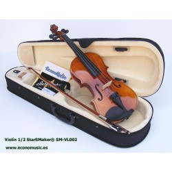 Violin de 1/2 StarSMaker® SM-VL002 Glossy