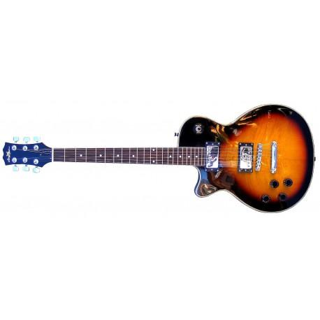 Guitarra eléctrica zurdos SM-GE008LP-Z StarSMaker estilo Gibson1
