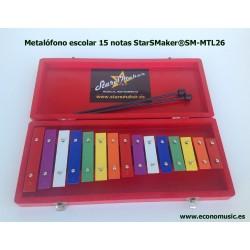Metalófono Escolar StarSMaker® SM-MTL26