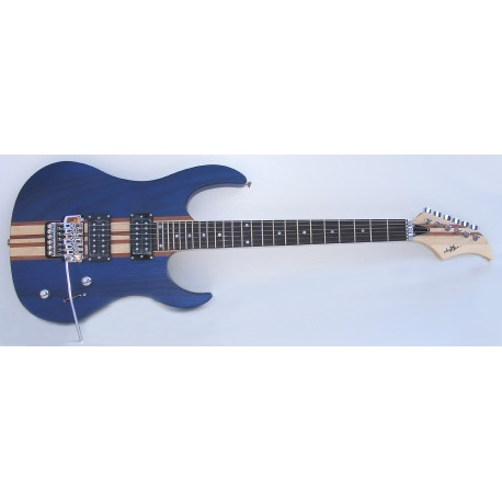 Guitarra eléctrica SM-GE022N StarSMaker azul. Ío Blue1
