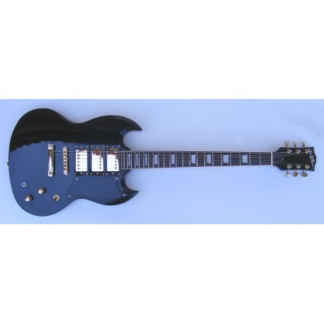 Electric Guitar StarSMaker® SM-GE015 Black
