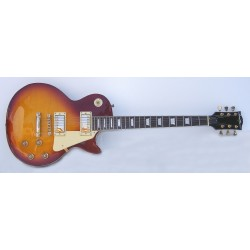 Guitarra eléctrica SM-GE013 StarSMaker Page Sunburst LP