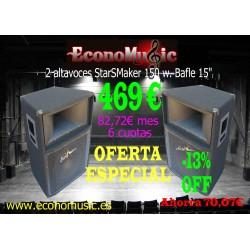 2 Altavoces StarSMaker® SM-AV150