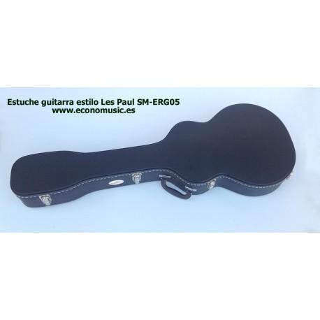 Estuche guitarra eléctrica Les Paul