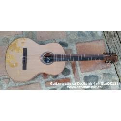 Guitarra clásica LAG 4/4 EC-GLAOC118