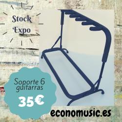 Soporte 6 guitarras/bajos StarSMaker® SM-S6G ex demo