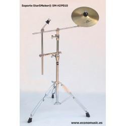 "Soporte platillo jirafa + Plato 10"" + barra adicional StarSMaker® SM-HJP10"